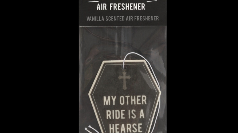MY OTHER RIDE IS A HEARSE | Air Freshner (Vanilla)