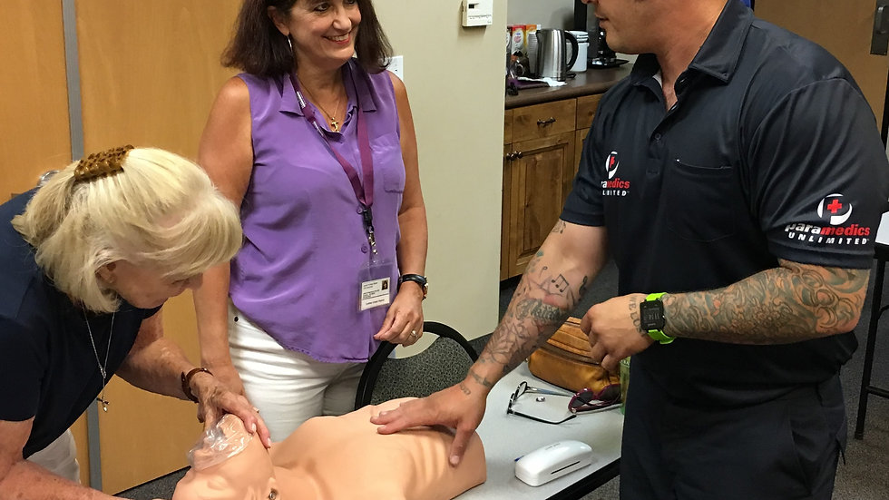 CPR CLASS & AED CLASS