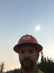 Our medics at wildland fires enjoyed full solar eclipse
