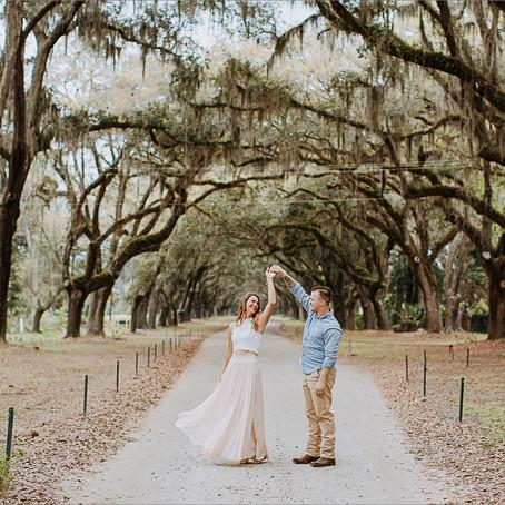 Rebecca & Aaron | Engagement | Savannah, Ga