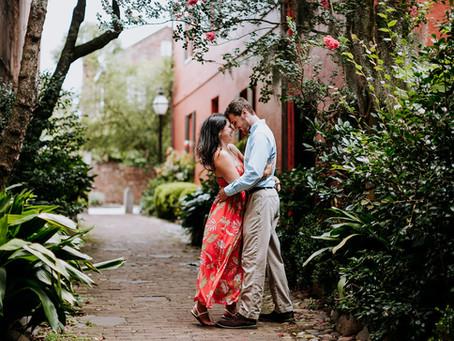 Lauren + Matthew    Proposal/Engagement   Charleston, SC