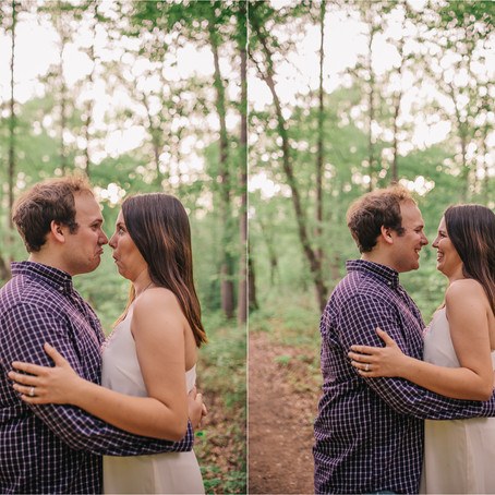 Courtney & Cole | Engagement | Lithia Springs, GA