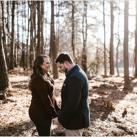 Alycia & Travis | Engagement | Roswell, GA