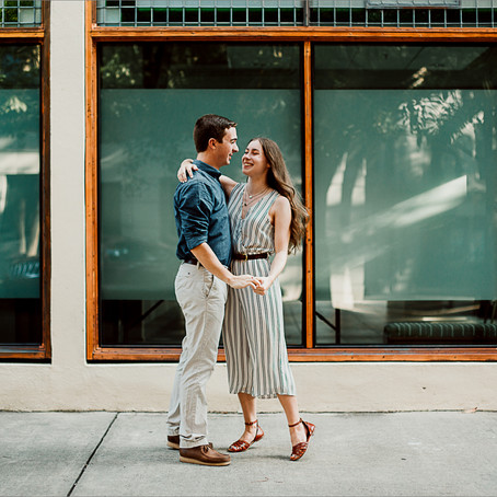 Tessa & Tommy   Engagement   Savannah, GA