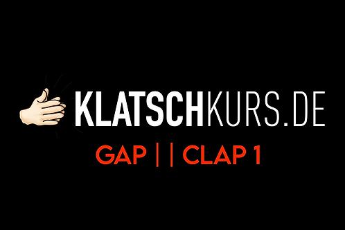 Gap Clap 1, 80bpm, Clapalong