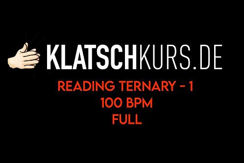Reading Ternary 1, 100bpm, Full Version
