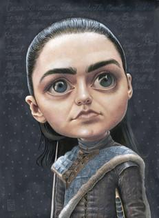 Maisey Williams as Arya Stark