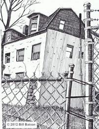 Sketch by Bill Batson (c)2012