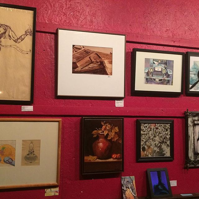 Nyack Art Collective members create Amazing Art!_Come check it out at Casa del Sol Nyack!_Show opens