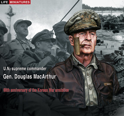 U.N. supreme commander Gen. Douglas MacArthur