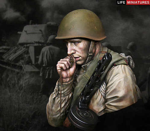 'On The Edge of No Man's Land' WW2 Young Red Army Infantryman, Battle of Kursk
