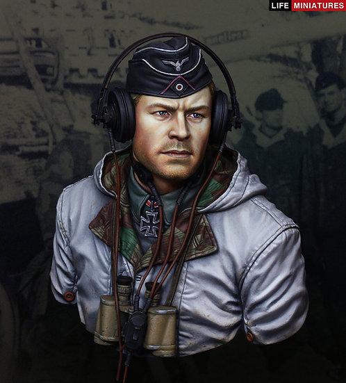 WW2 German King Tiger Commander, s.Pz.Abt.503, Hungary 1944