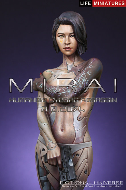 MIRAI - Humanoid Cyborg Assassin A.D.2074