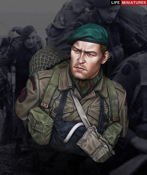 WW2 British Commando on D-Day, June 1944