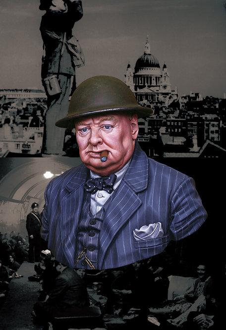 """""""Never Surrender"""" British Prime Minister Winston Churchill"""