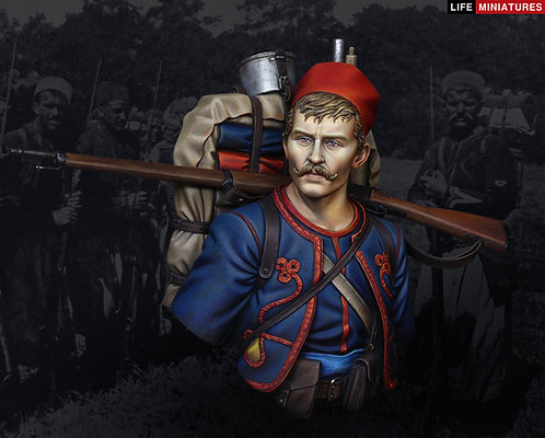 French Zouave Regiment in 1914