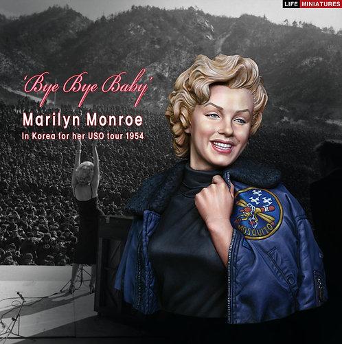 'Bye Bye Baby' Marilyn Monroe in Korea for her USO tour 1954
