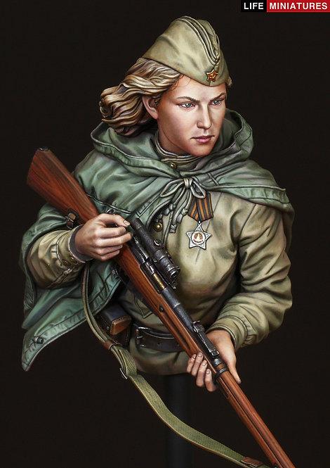 WW2 RED ARMY FEMALE SNIPER