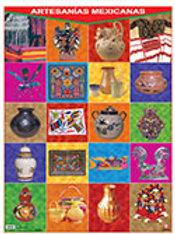 Poster Mexican Crafts: Poster Artesanías Mexicanas