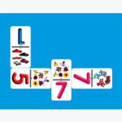 Numbers Association Dominoes Game: Dominó Asociación de Números