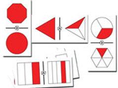 Fractions Giant Dominoes Game: Dominó Gigante de Fracciones División