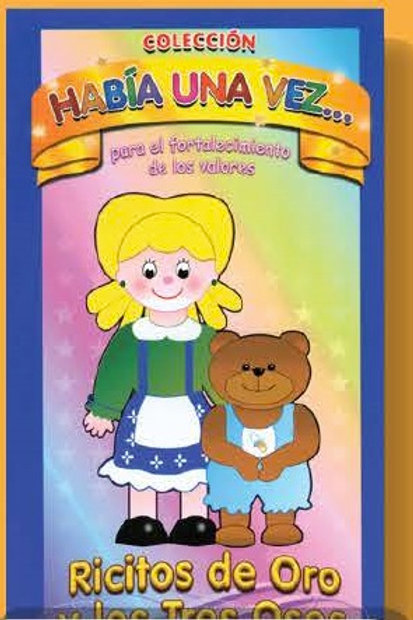 Goldilocks and 3 bears : Ricitos de Oro los 3 Osos