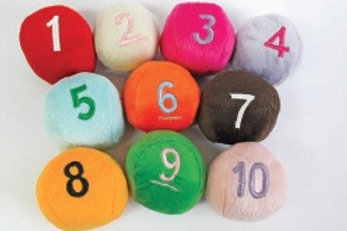 Ball Game (Colors and Numbers) : Juego de Pelotas (Colores y Números).