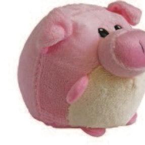 Huggable Plush Ball Pig: Boliapapacho Cochino