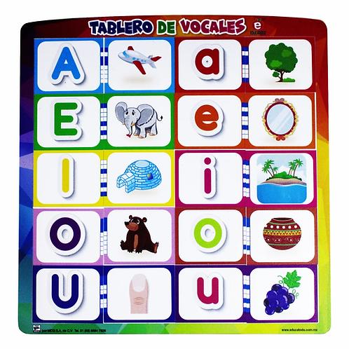 Vowels Board: Tablero de vocales