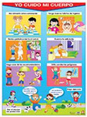 Poster I Take Care Of My Body: Poster Yo Cuido Mi
