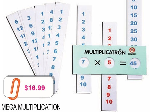 Mega Multiplication: Mega Multiplicatron