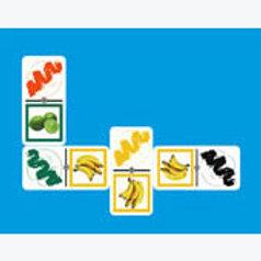 Color Association Dominoes Game: Dominó Asociación de Colores