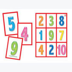 Numbers Bingo Game: Lotería de Números