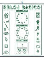 Erasable Basic Clock: Plumoagua Reloj Básico