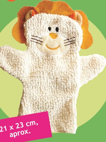 Baby Lion Cub Hand Puppet: Babytiteres Leoncito