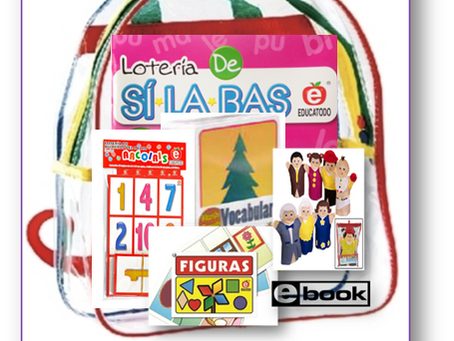 New Release! Take-home Family or Summer Backpacks-Bilingual, Spanish only or English only!