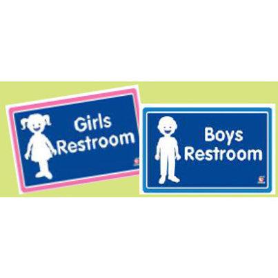 Classroom Label - Boys Restroom