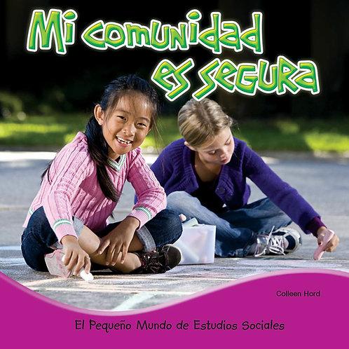 Mi comunidad es segura (My Community is safe)