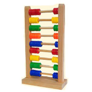 Abacus Wood 9 Rows