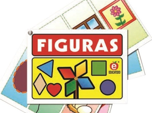 Figures Notebook: Cuadernillo Figuras