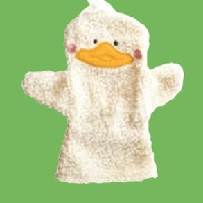 Baby Duckling Hand Puppet: Babytiteres Patito