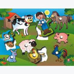 Puzzle with Peg Farm and Others: Resaque con Perilla Granja y Derivados