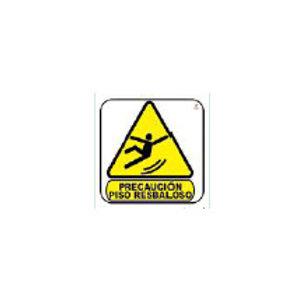 Classroom Label - Caution Wet Floor