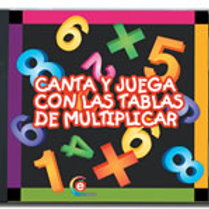 CD, Sing and Play With The Multuplication Tables: