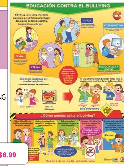 Poster Education Against Bullying: Poster Educaci