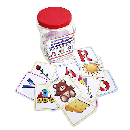 TRIMEMOPARES ABECEDARIO CON ASOCIACION;Tri-Memory Game Alphabet in Spanish