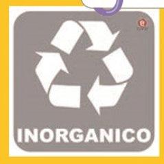 Sticker Inorganic Waste:Etiqueta Basura Inorgánica