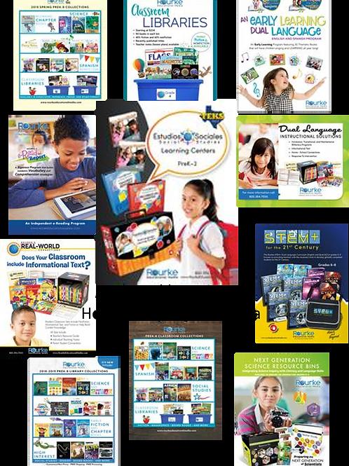 Spanish classroom libraries, dual language and curriculum