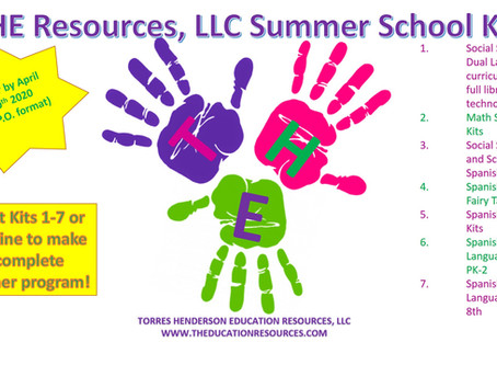 SUMMER SCHOOL MATERIALS NOW AVAILABLE