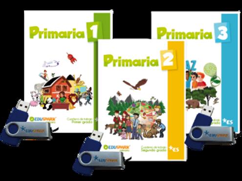 Eduspark Primaria, Spanish Language Arts, Science,